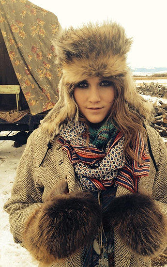 Mountain Man Beaver ❅ Fur Trooper Hat