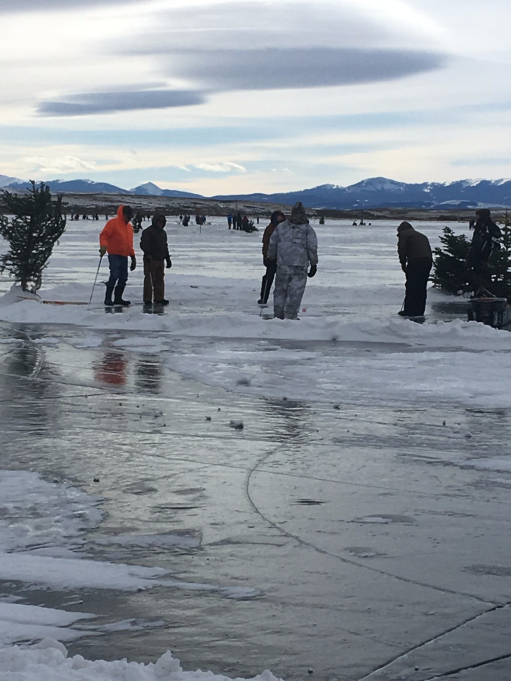 Ron Sessions Memorial Ice Golf Tournament