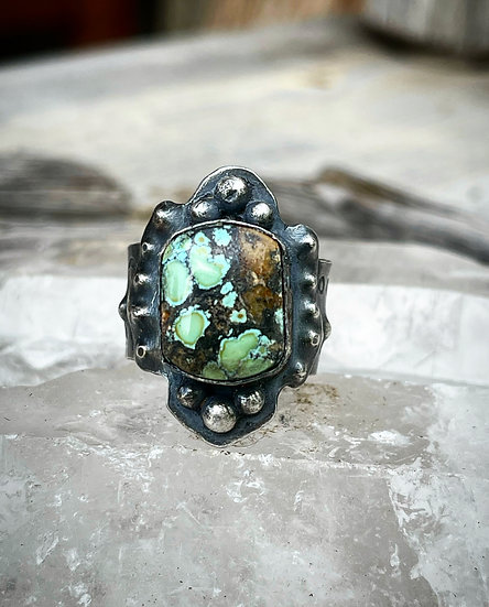 ✜ Iron Maiden Ring No. 4 ✜  Size 10