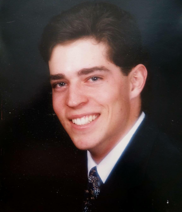 Clint Harris Senior Picture, 1994