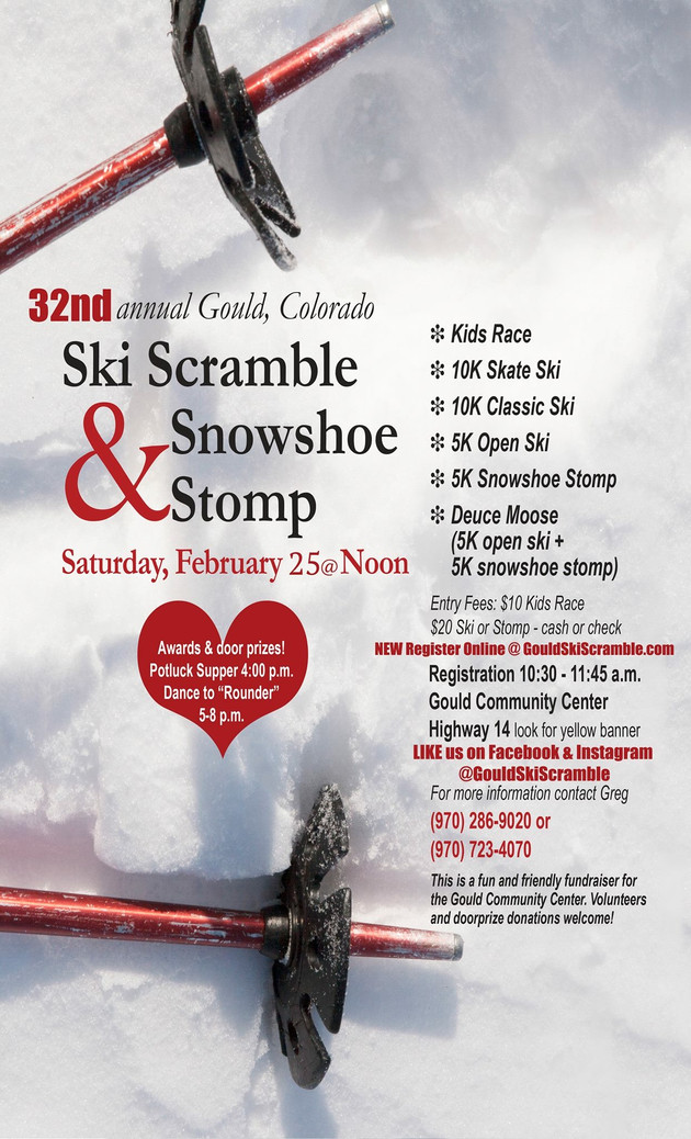 32nd Annual Ski Scramble & Snowshoe Stomp