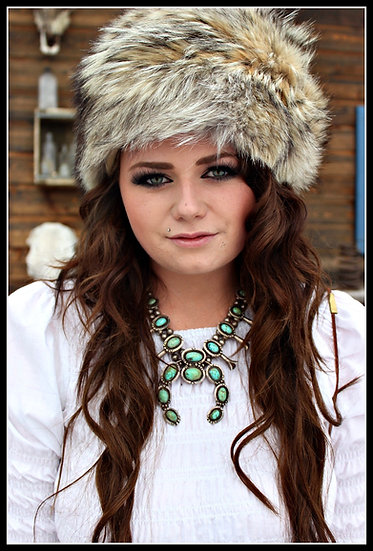 Coyote Fur ❅ Hat ❅ Locally Hand Made