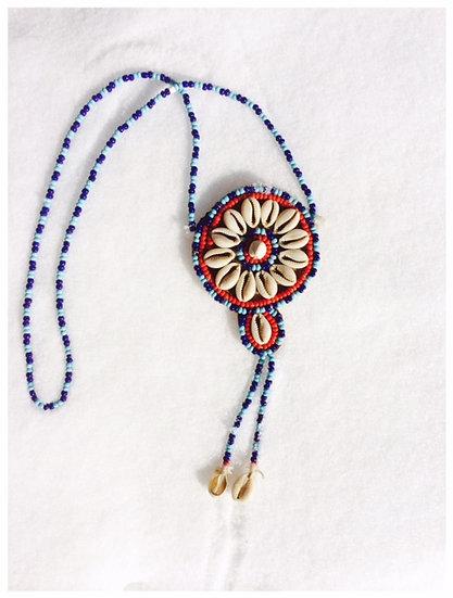 ❅PINWHEEL❅ Vintage Handmade Shell Necklace