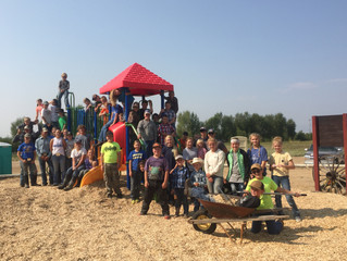 A Playground Facelift In Memory Of Alisha