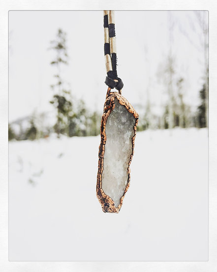 ❊ skadi ❊ Alpine Quartz Necklace by custom order