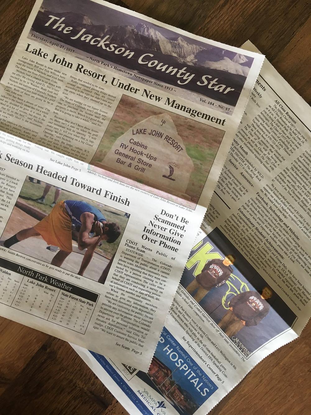 Jackson County Star 4/27/17