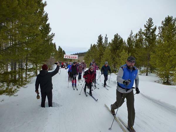 Gould Ski Scramble Race, Bron Austin Deal