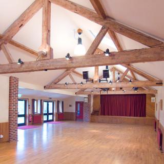 The Hall interior