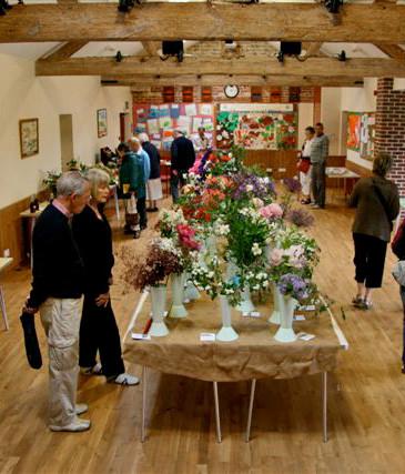 A local flower show