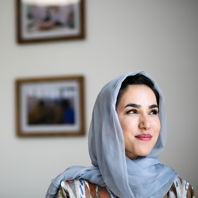 Nadima Sahar, Minister of Afghanistan's Technical and Vocational Education and training board, founder of SoftPower solutions