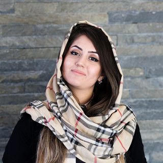 Rose Afghanzada, 26, Library Receptionist, Kabul University