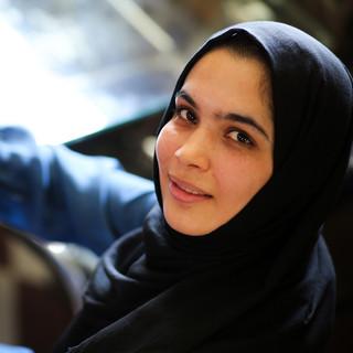 Khatereh Mohammadi, 22, member of first Afghan girls developer team, IT manager