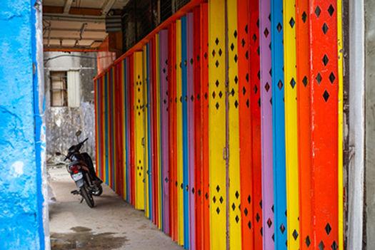 Penang Colors, Digital Photograph, 2016