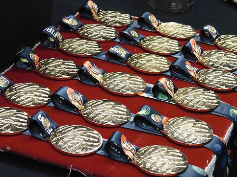 Medallas del baloncesto