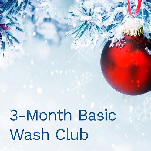 3-Month Basic Wash Club Membership