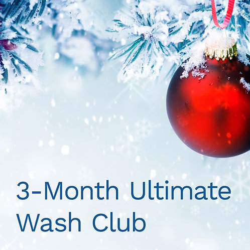 3-Month Ultimate Wash Club