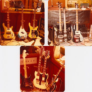 Alex & Geddy guitars at Le Studio
