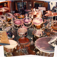 Neil Peart kit at Le Studio