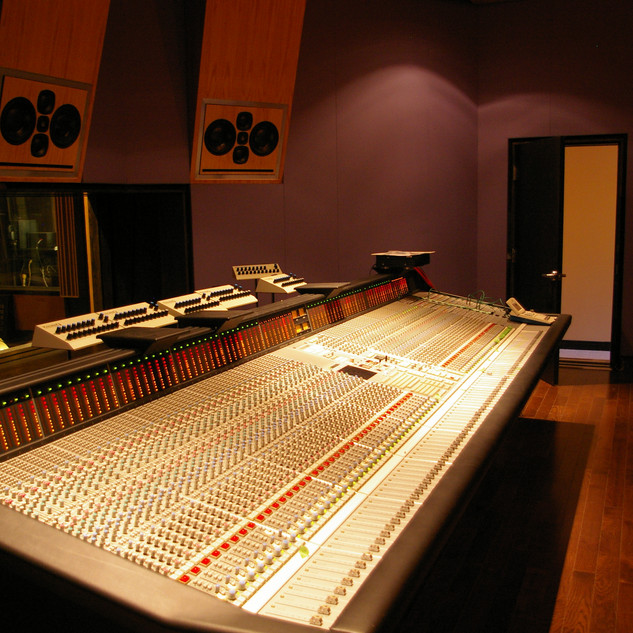 Completed SSL 8072G+ & 5.1 Control Room