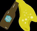 Pyctogramme Bouteille de biere verse (Ve