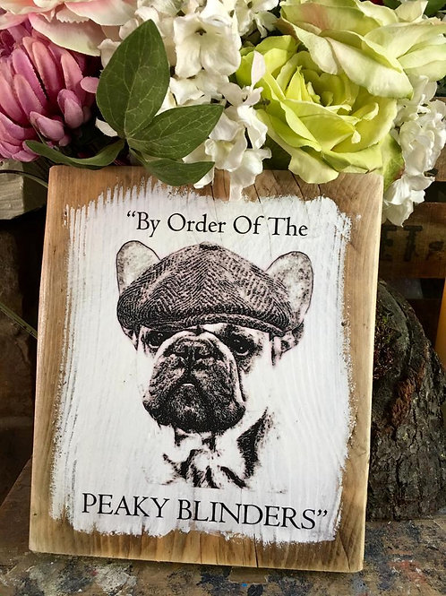 Peaky Blinder Frenchie