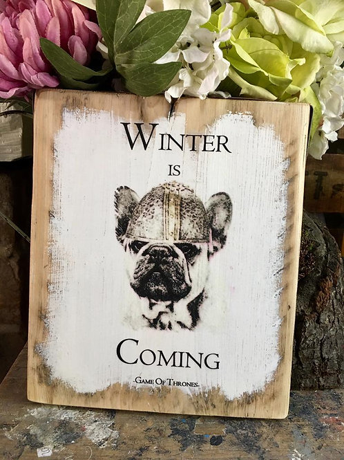 Winter is coming Frenchie
