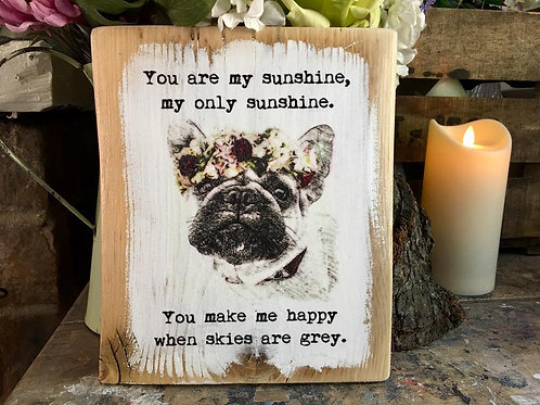 You are my sunshine Frenchie