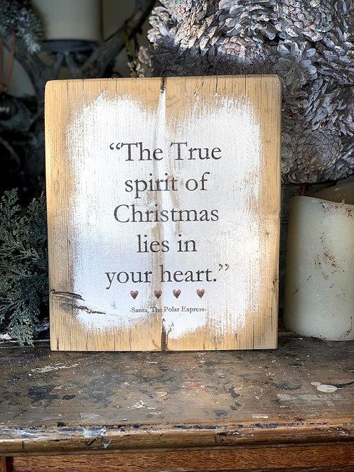 The True spirit