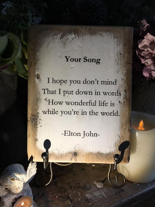 Your Song
