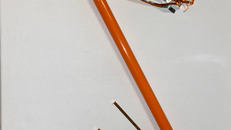 Leukemia/orange warrior spirit baton