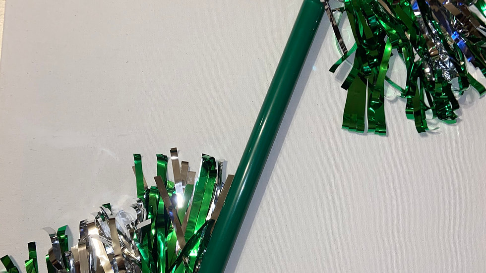 Green Warrior Spirit Batons