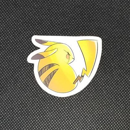 Sleepy Male Pikachu Sticker