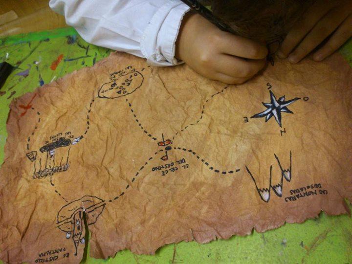 Facebook - Estos días los alumnos han estado realizando sus propios mapas del te