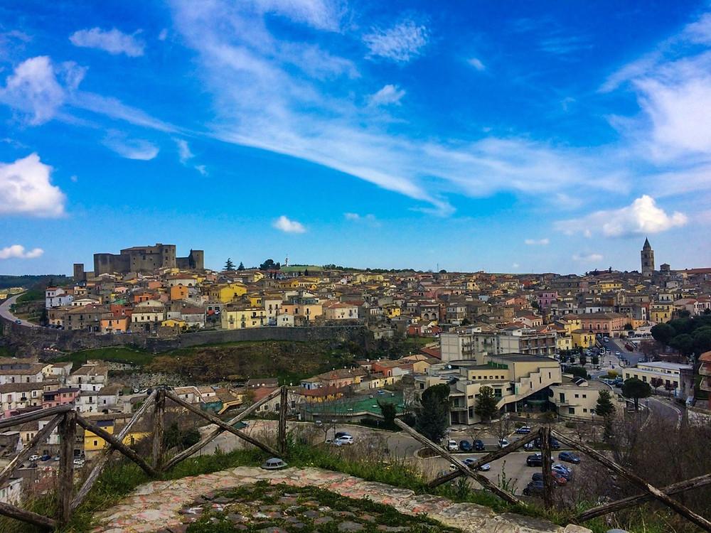 Melfi un paese in provincia di Potenza, in Basilicata