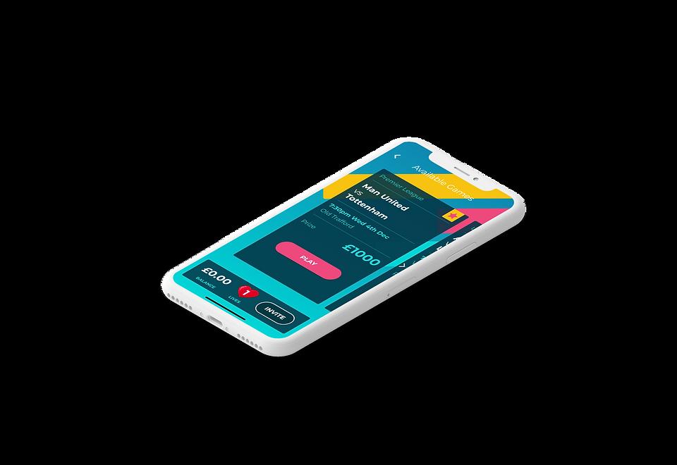 Tenner in app screenshot