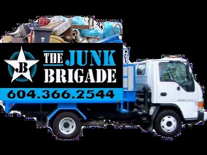 Junk Brigade Junk Removal Truck