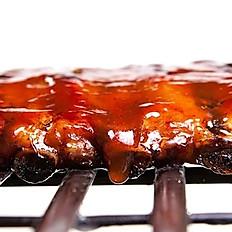 Cranberry Dijon BBQ Back Ribs