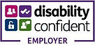 photo disability confident employer logo