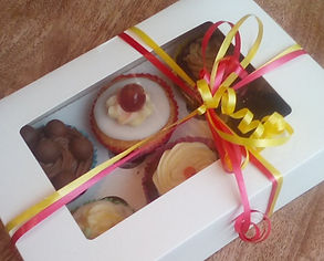 cup cakes in a ribbon box.jpg