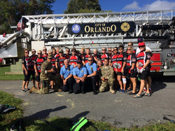 Orlando PD and FF