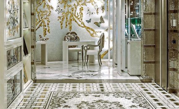 Pavimento in mosaico, parete in mosaico, mosaici in marmo, mosaici in pietra, mosaici in oro, mosaici in vetro di Murano, mosaici smaltati, mosaici in iridium, mosaici in acciaio, mosaici glimmer, Pavimenti, Rivestimenti, Mosaico, InternieperCaso Pavia, Pavimenti Pavia, piastrelle Pavia, arredo bagno Pavia, parquet Pavia