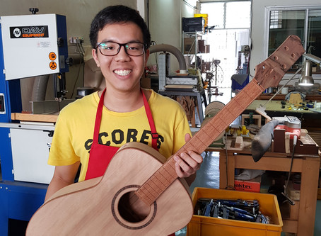 Learning from my Guitar Making Class #190528