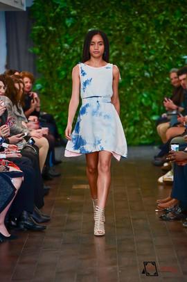 Decker Shop LA - Blue Tie Dye Dress