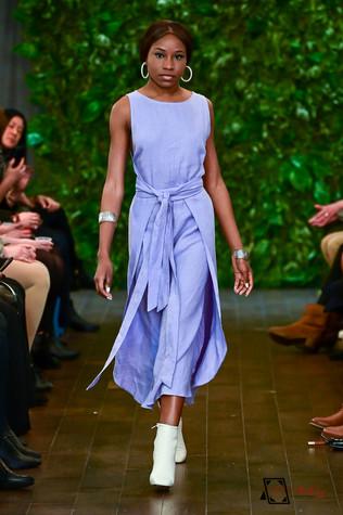 Decker Shop LA - Purple Tie Dress