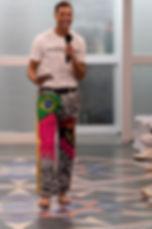 NYFW Adalinda Sustainable Fashion Show- MC Matt Flowers