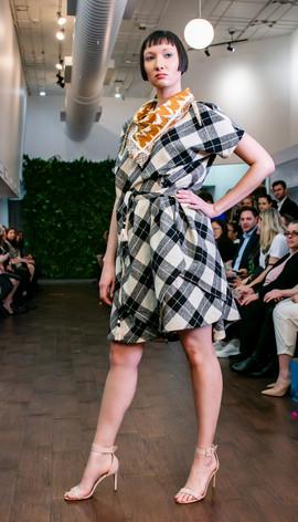 Laili Lau- Gingham Dress