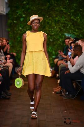 Decker Shop LA - Yellow Dress with Tie Back