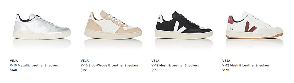 Veja Sneakers featured on Adalinda