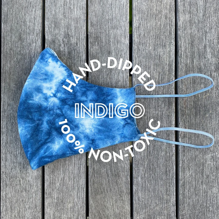 Groceries Apparel Hand-Dipped Indigo 100% Non-Toxic