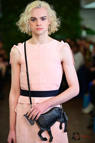 Decker Shop LA - Pink Tie Dress